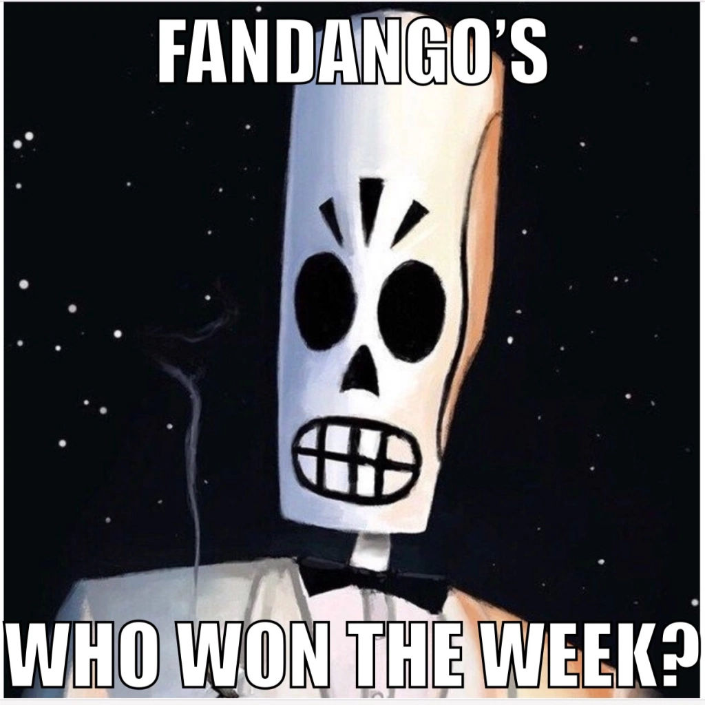 Prompt image for the Fandango's Who Won The Week prompt