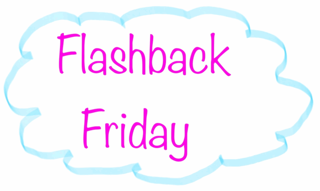 Prompt image for the Flashback Friday prompt