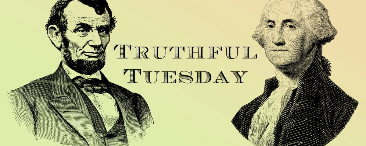 Truthful Tuesday (1 December 2020)