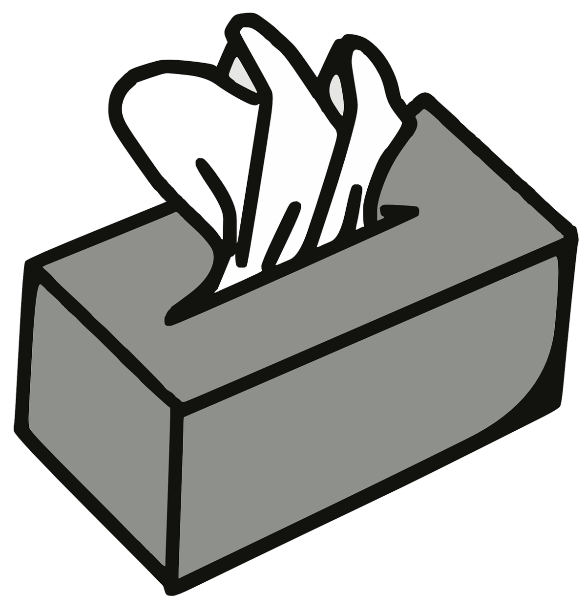 clipart of a box of tissues