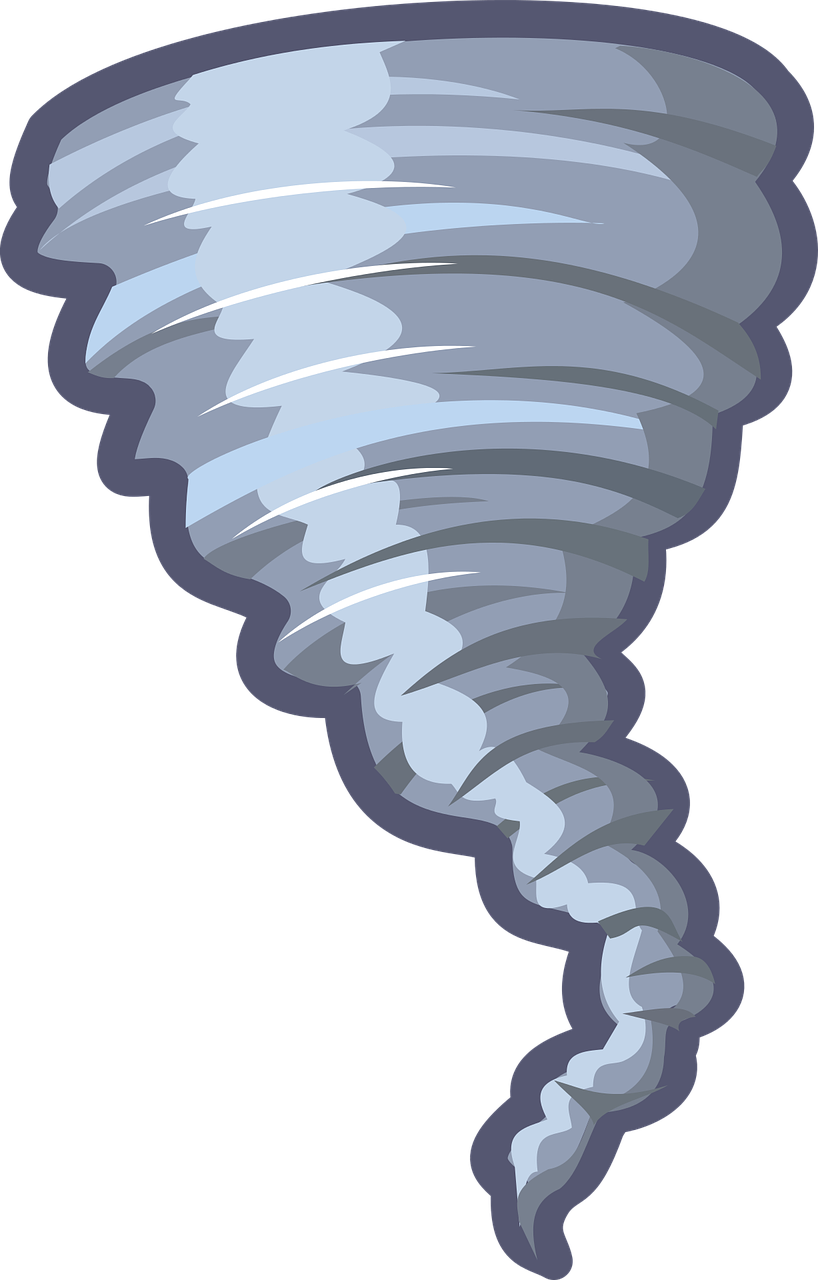 clipart of a tornado or twister