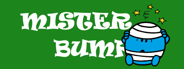 The Mister Bump site logo