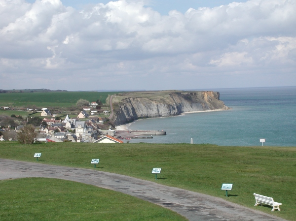 A photo of Arromanches in Normandy