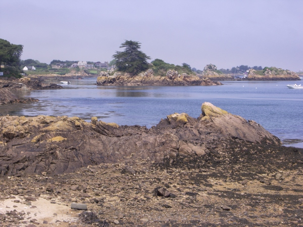 A photo of a beach in Brittany