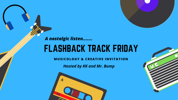 "Graphic image for the prompt ""Flashback Track Friday"""