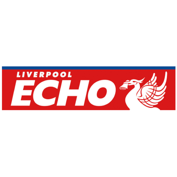 The masthead of the local newspaper, the Liverpool Echo.