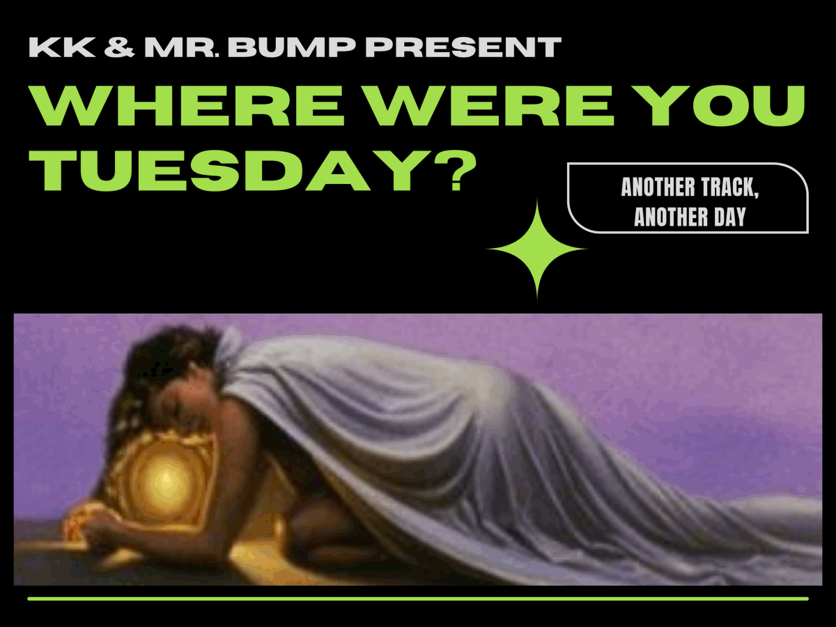 Where Were You Tuesday prompt graphic