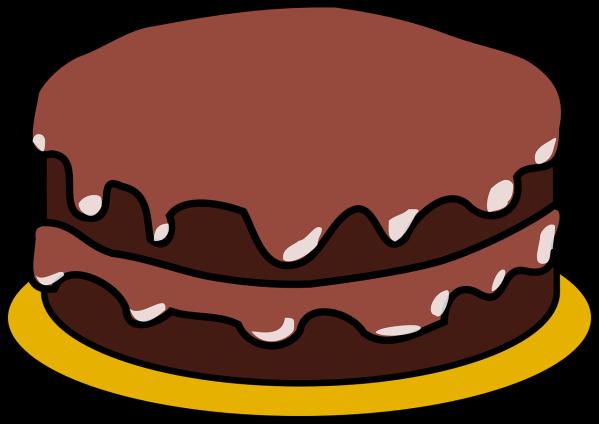 clipart image of a sponge cake